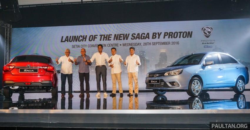 Proton Saga 2016 kini dilancarkan secara rasmi – 4 varian, 1.3L VVT, dari RM36,800 hingga RM45,800 Image #555132