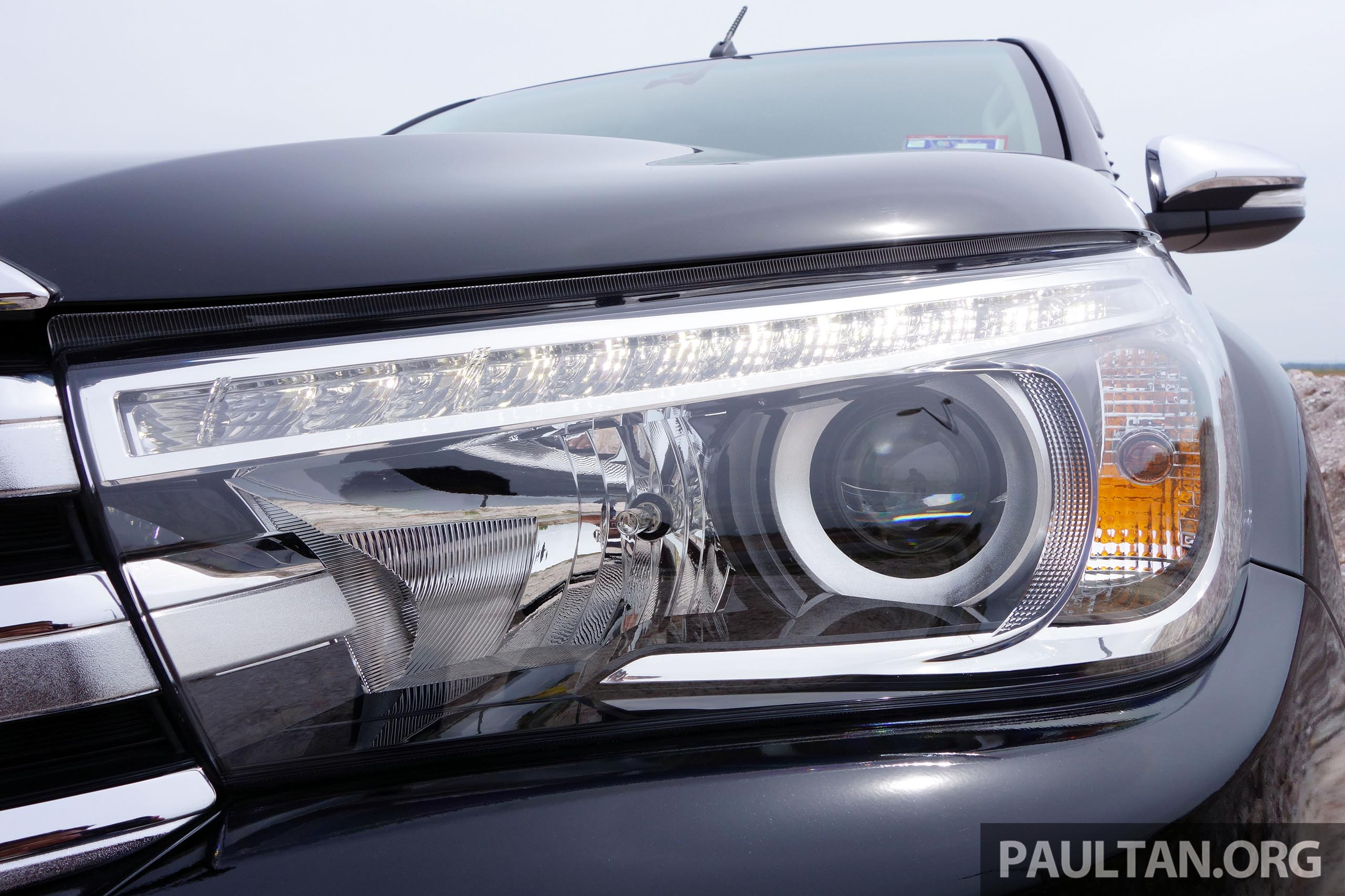 PANDU UJI: Toyota Hilux 2.8G – Ketangkasan dalam imej ...