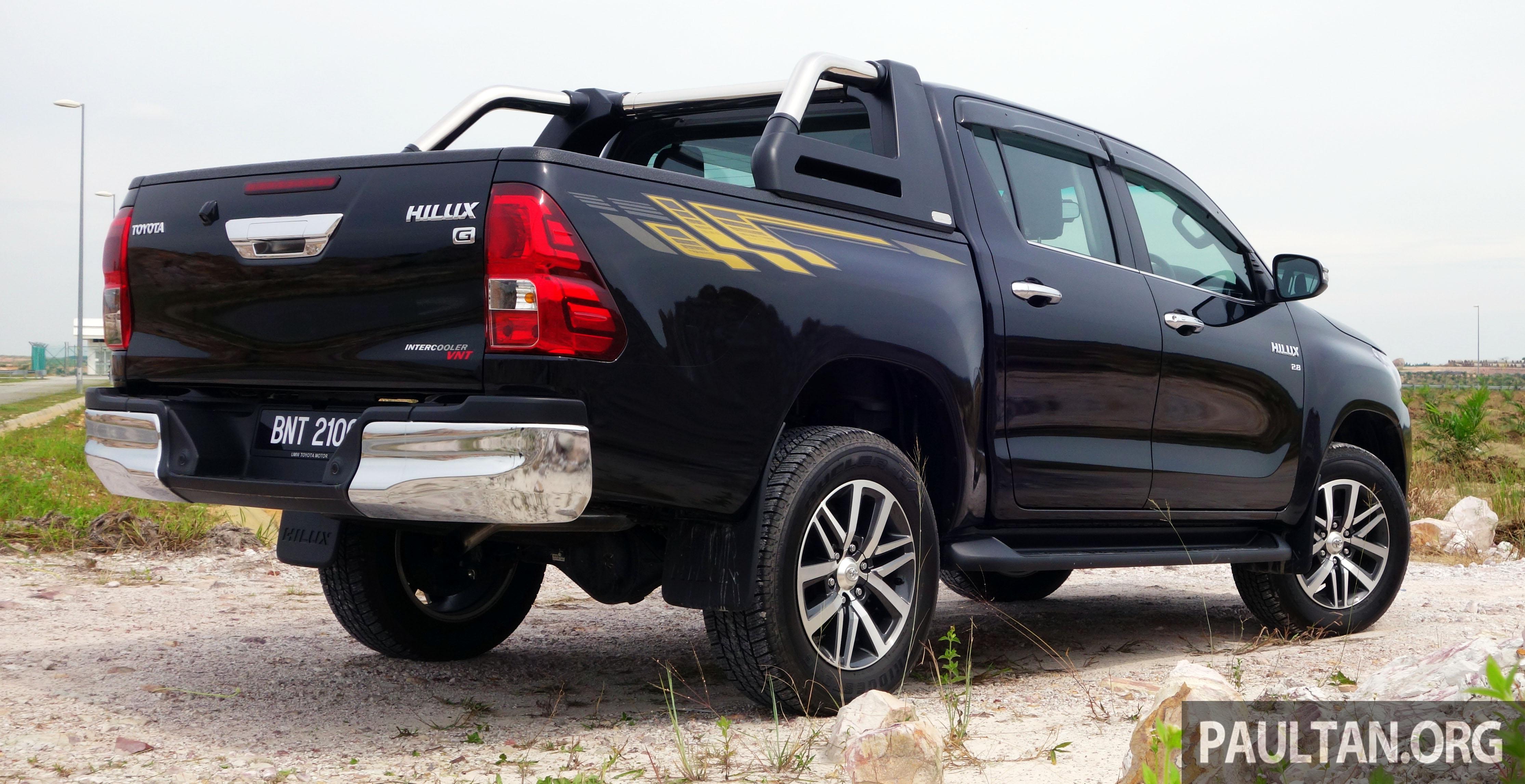 Toyota Hilux 2016 >> PANDU UJI: Toyota Hilux 2.8G – Ketangkasan dalam imej urban, mampukah ia mengekalkan populariti ...