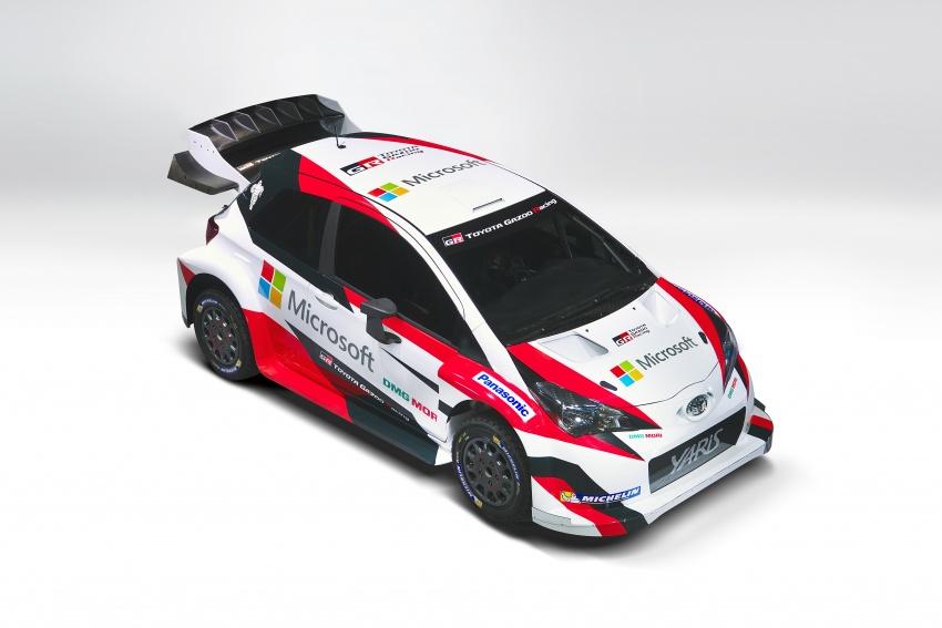 2017 Toyota Yaris WRC unveiled – Microsoft as partner Image #557653