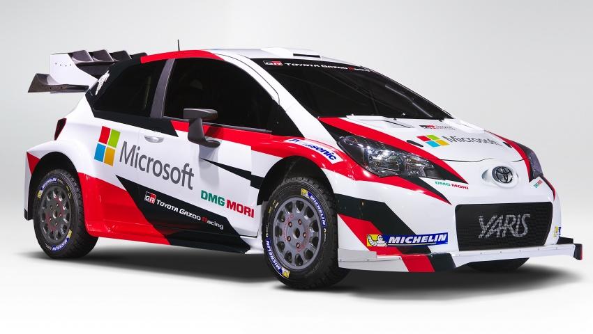2017 Toyota Yaris WRC unveiled – Microsoft as partner Image #557654