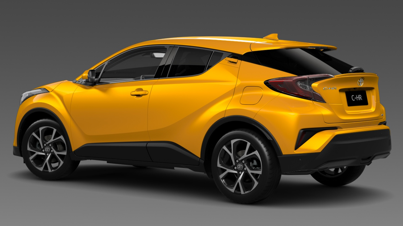 Back to Story: Toyota C-HR – SUV to go on sale in Australia Q1 2017