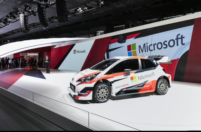 2017 Toyota Yaris WRC unveiled – Microsoft as partner Image #557648