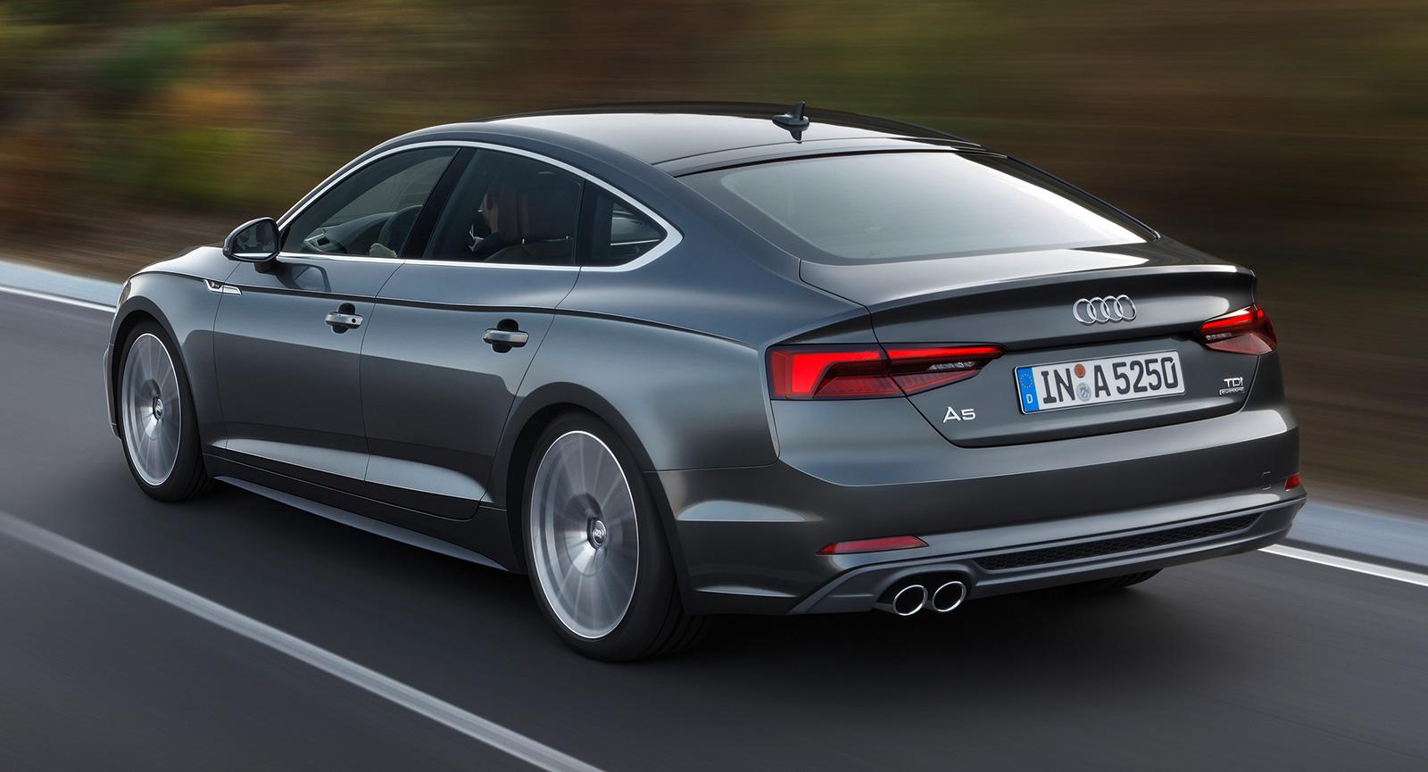 2017 Audi A5 And S5 Sportback Revealed Paris Debut Paul Tan Image