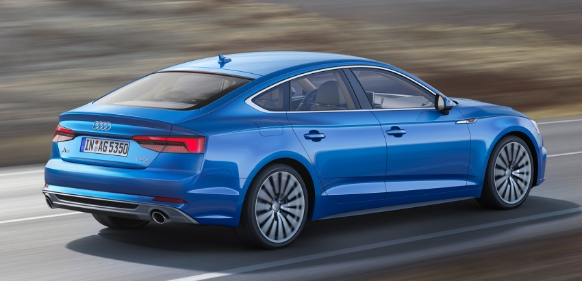 2017 Audi A5 and S5 Sportback revealed, Paris debut Image #546231
