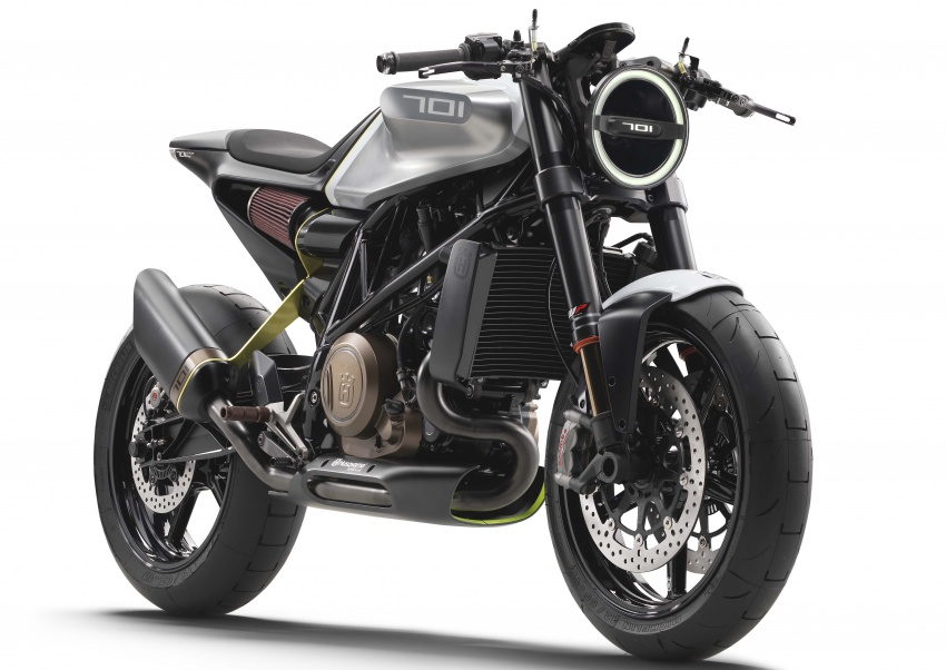 Husqvarna Vitpilen 701 to enter production soon? Image #542165