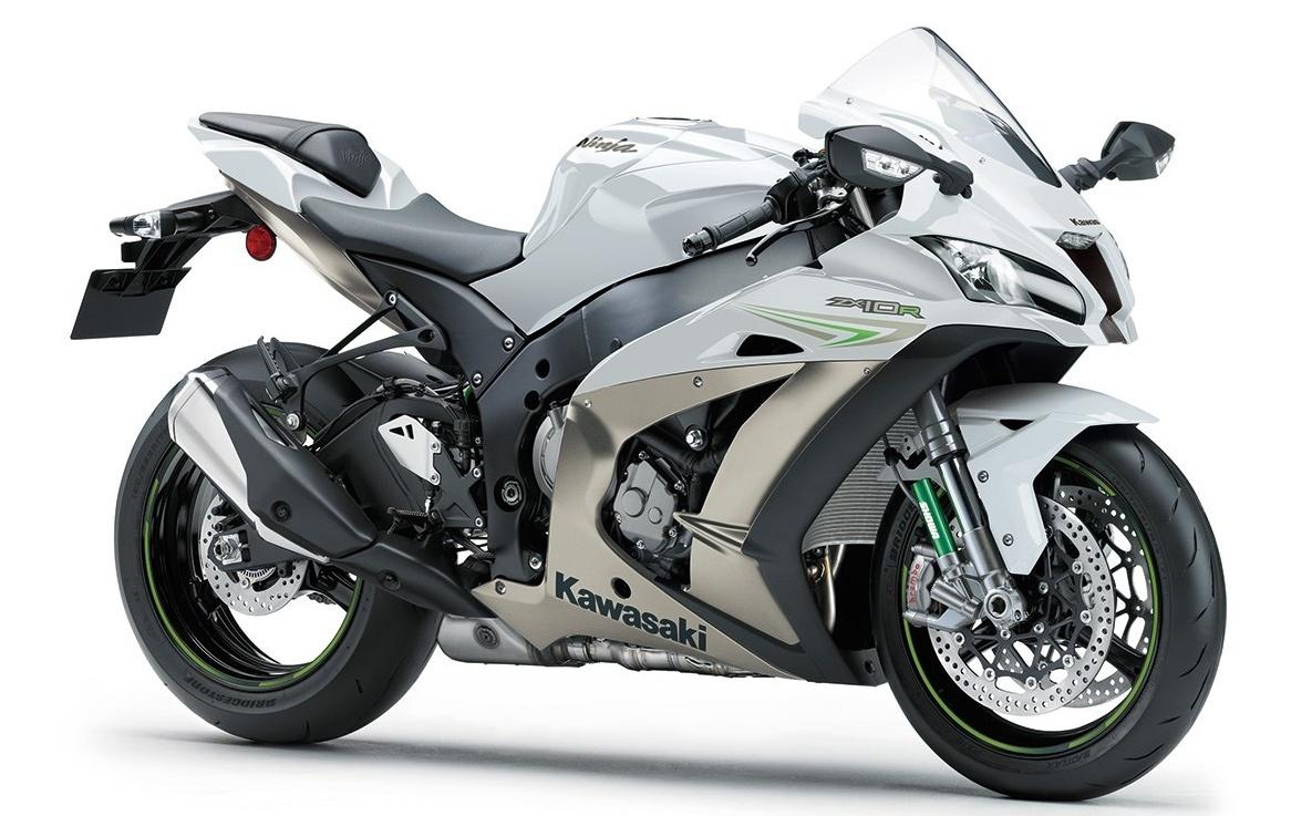 White Kawasaki