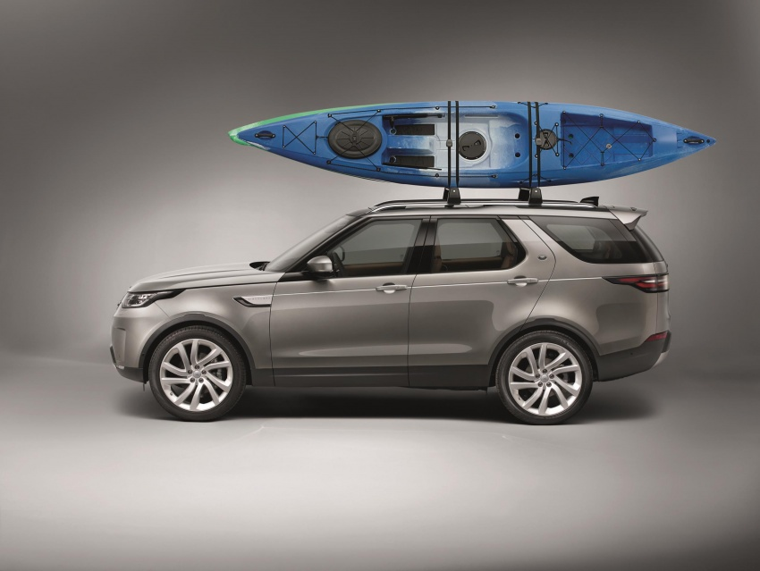 New Land Rover Discovery: full 7-seater, 480 kg lighter Image #555525