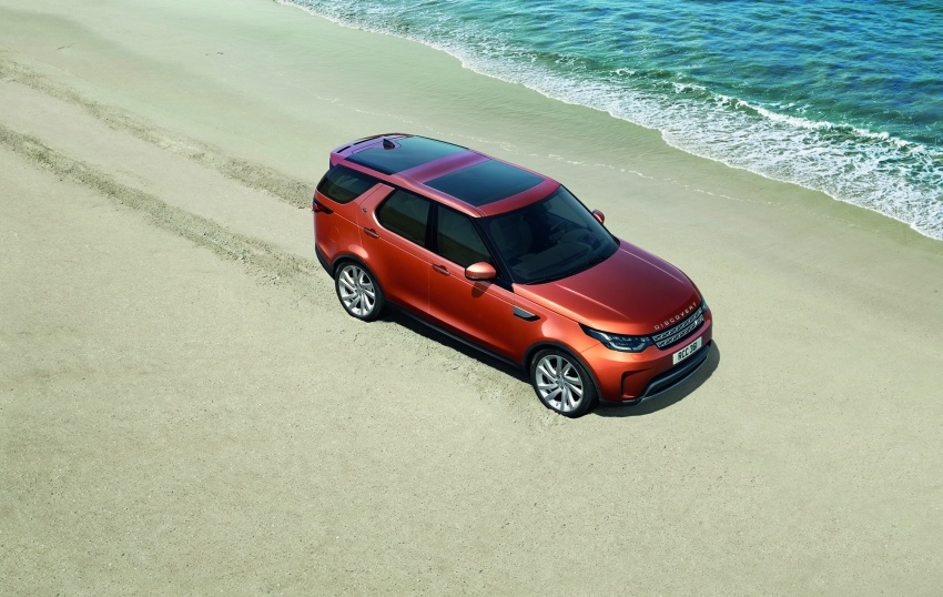 New Land Rover Discovery: full 7-seater, 480 kg lighter Image #555526