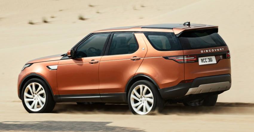 New Land Rover Discovery: full 7-seater, 480 kg lighter Image #555527