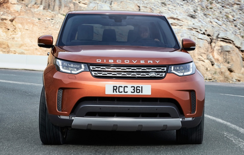 New Land Rover Discovery: full 7-seater, 480 kg lighter Image #555528