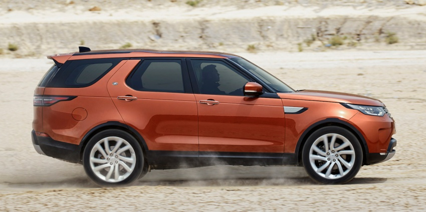 New Land Rover Discovery: full 7-seater, 480 kg lighter Image #555529