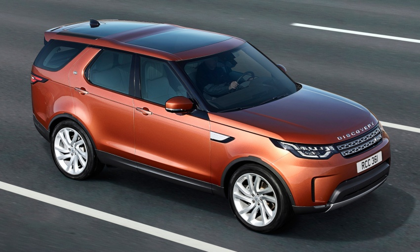 New Land Rover Discovery: full 7-seater, 480 kg lighter Image #555530