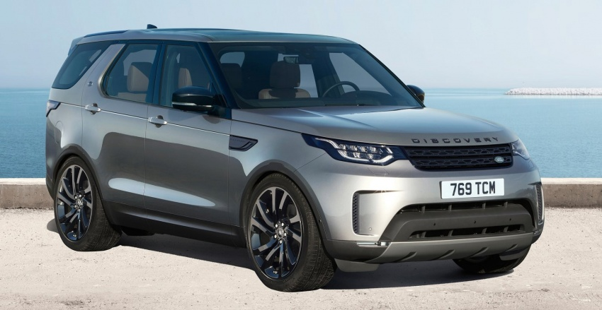 New Land Rover Discovery: full 7-seater, 480 kg lighter Image #555531