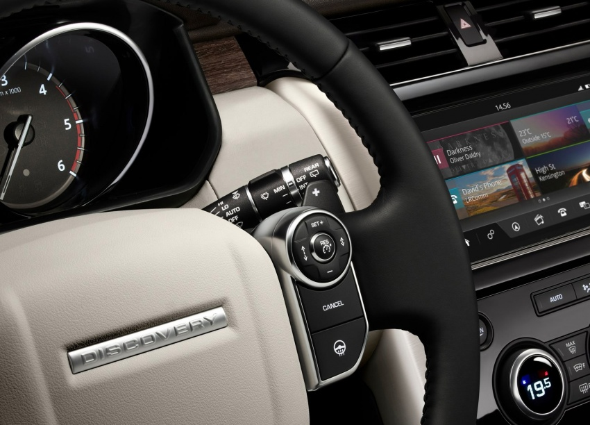 New Land Rover Discovery: full 7-seater, 480 kg lighter Image #555534