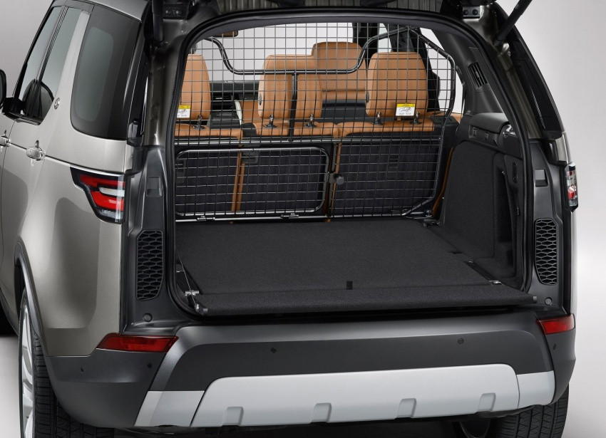 New Land Rover Discovery: full 7-seater, 480 kg lighter Image #555539