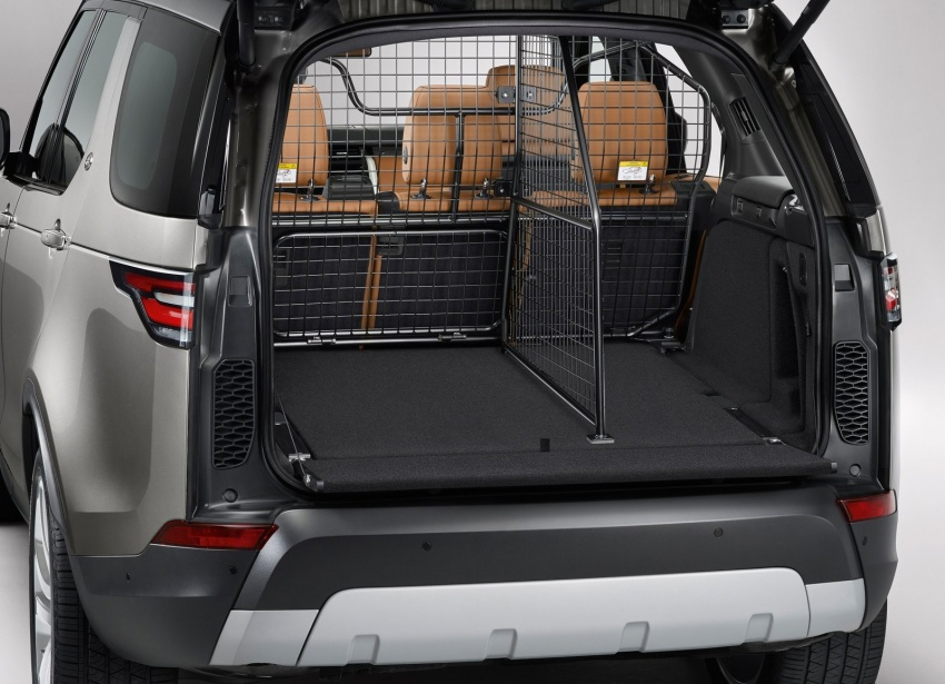 New Land Rover Discovery: full 7-seater, 480 kg lighter Image #555540
