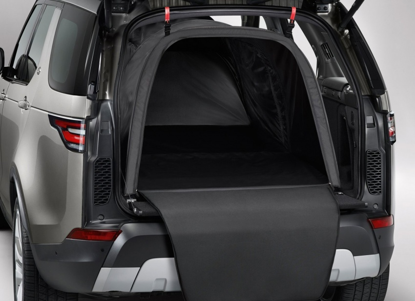 New Land Rover Discovery: full 7-seater, 480 kg lighter Image #555542