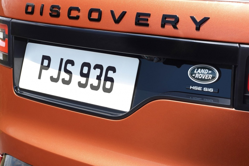 New Land Rover Discovery: full 7-seater, 480 kg lighter Image #555544