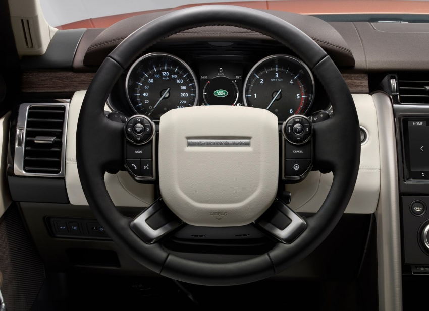 New Land Rover Discovery: full 7-seater, 480 kg lighter Image #555547