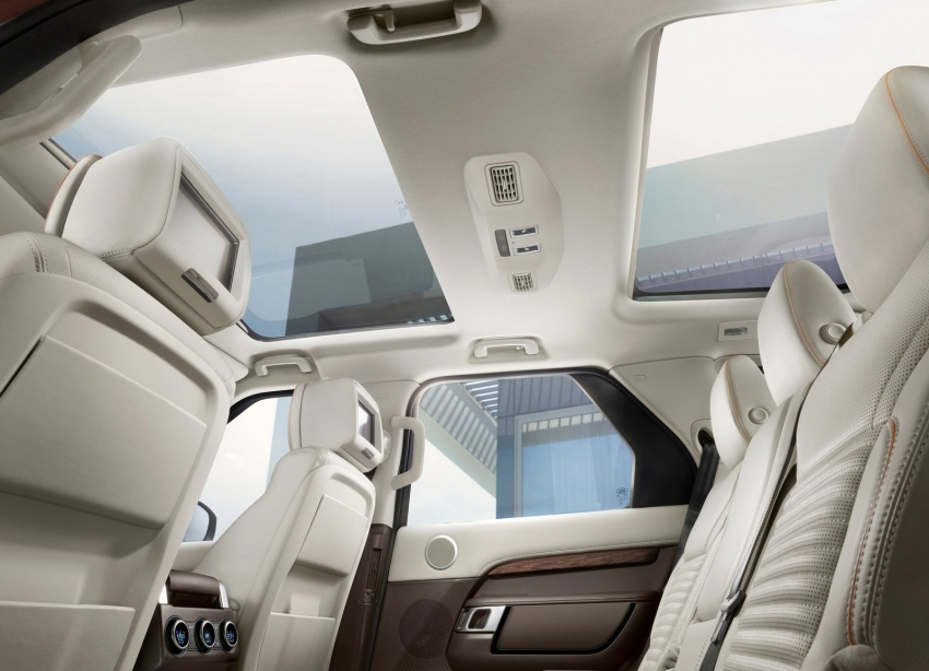 New Land Rover Discovery: full 7-seater, 480 kg lighter Image #555553