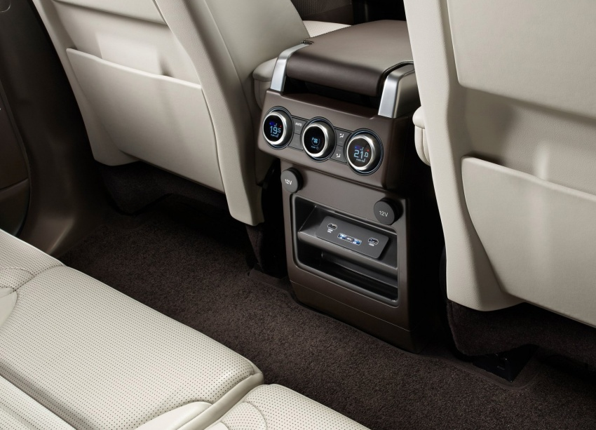 New Land Rover Discovery: full 7-seater, 480 kg lighter Image #555554