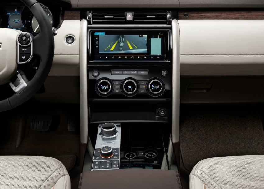 New Land Rover Discovery: full 7-seater, 480 kg lighter Image #555562
