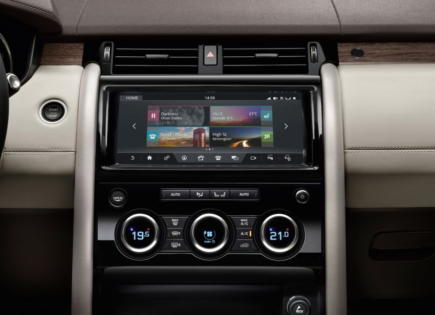 New Land Rover Discovery: full 7-seater, 480 kg lighter Image #555564