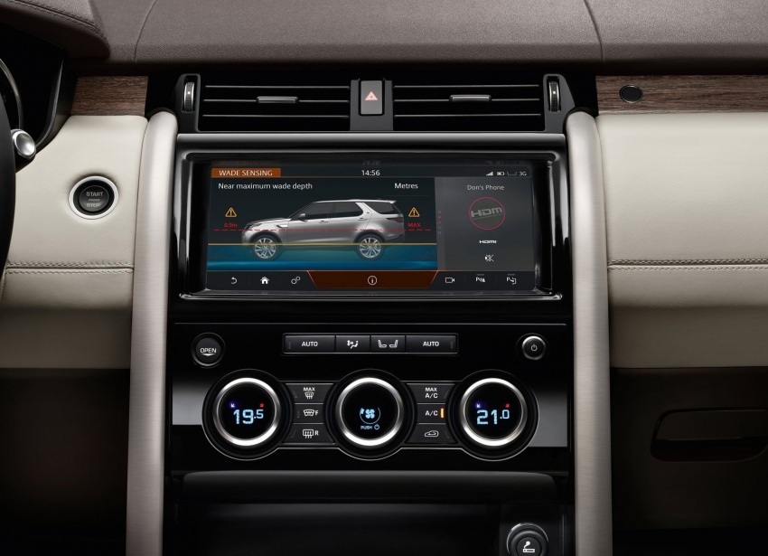 New Land Rover Discovery: full 7-seater, 480 kg lighter Image #555565
