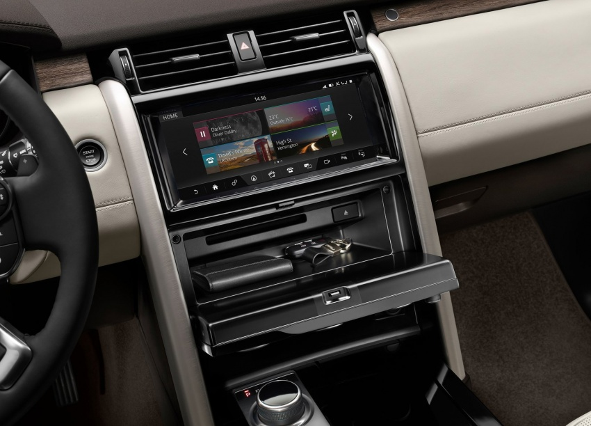 New Land Rover Discovery: full 7-seater, 480 kg lighter Image #555571