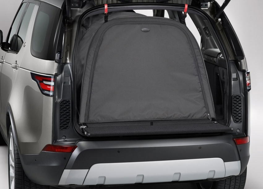 New Land Rover Discovery: full 7-seater, 480 kg lighter Image #555573