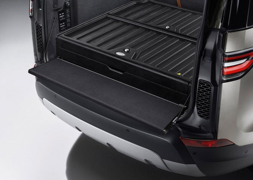 New Land Rover Discovery: full 7-seater, 480 kg lighter Image #555574