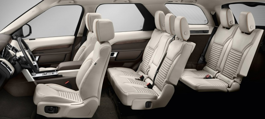 New Land Rover Discovery: full 7-seater, 480 kg lighter Image #555579