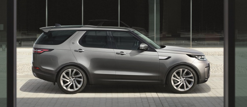New Land Rover Discovery: full 7-seater, 480 kg lighter Image #555583