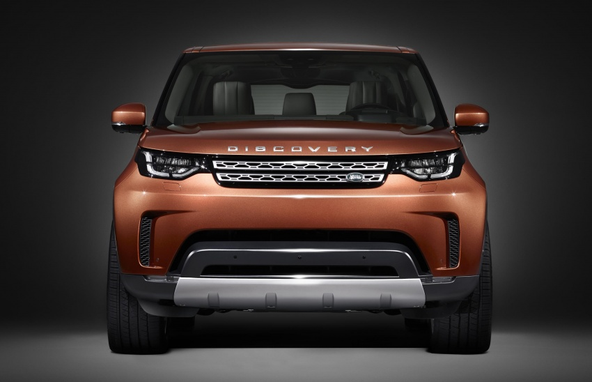 New Land Rover Discovery: full 7-seater, 480 kg lighter Image #555584