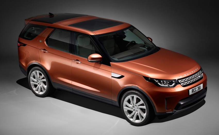 New Land Rover Discovery: full 7-seater, 480 kg lighter Image #555585