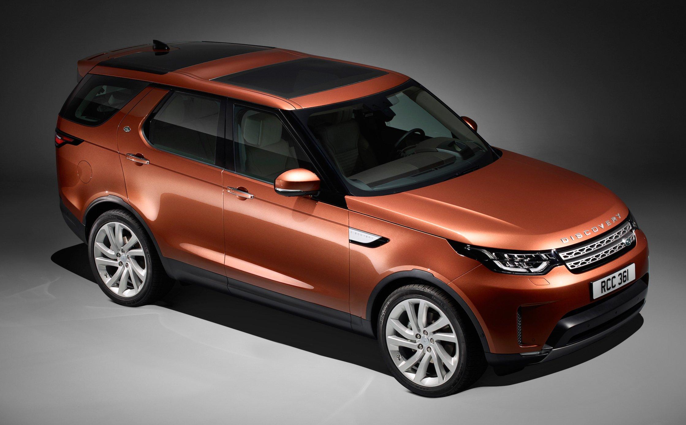 new land rover discovery full 7 seater 480 kg lighter image 555585. Black Bedroom Furniture Sets. Home Design Ideas