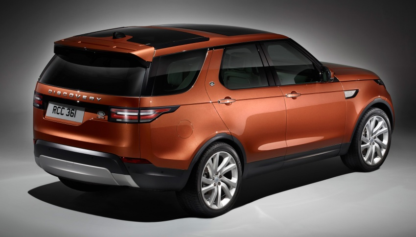 New Land Rover Discovery: full 7-seater, 480 kg lighter Image #555587