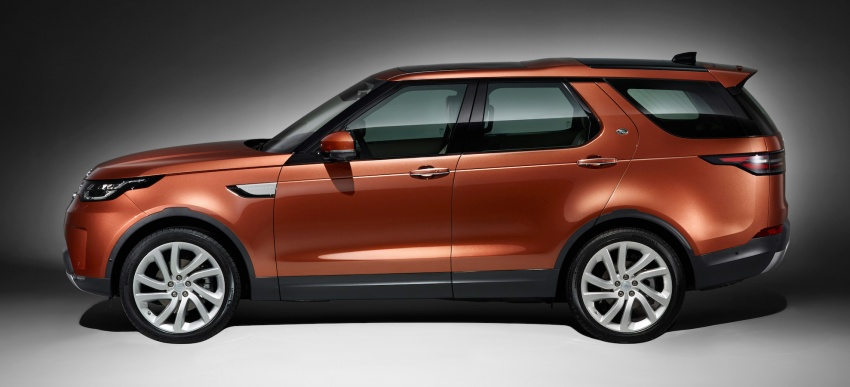 New Land Rover Discovery: full 7-seater, 480 kg lighter Image #555588