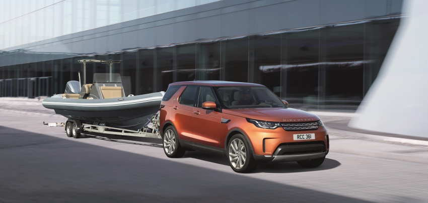 New Land Rover Discovery: full 7-seater, 480 kg lighter Image #555590