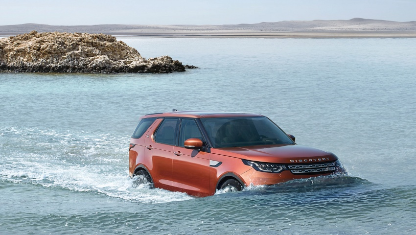 New Land Rover Discovery: full 7-seater, 480 kg lighter Image #555591