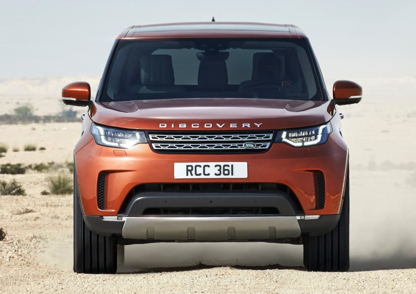 New Land Rover Discovery: full 7-seater, 480 kg lighter Image #555594
