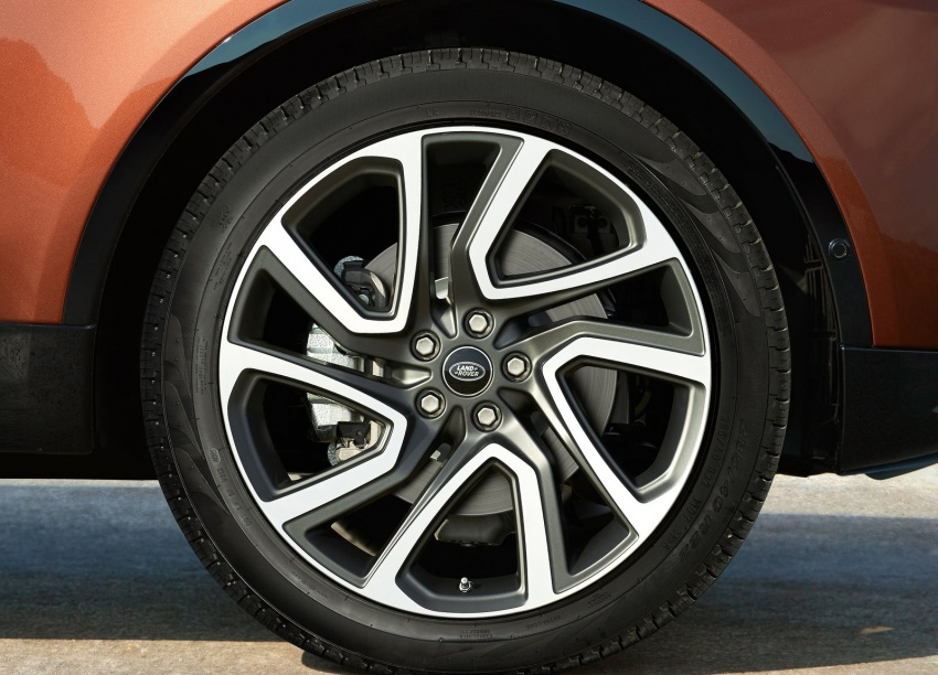 New Land Rover Discovery: full 7-seater, 480 kg lighter Image #555596