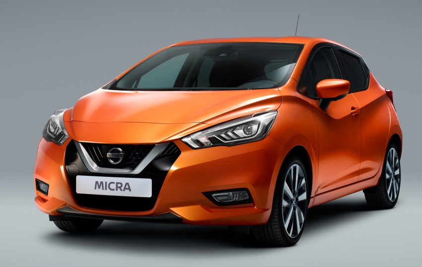 2017 Nissan March – fifth-gen officially revealed Image #555988