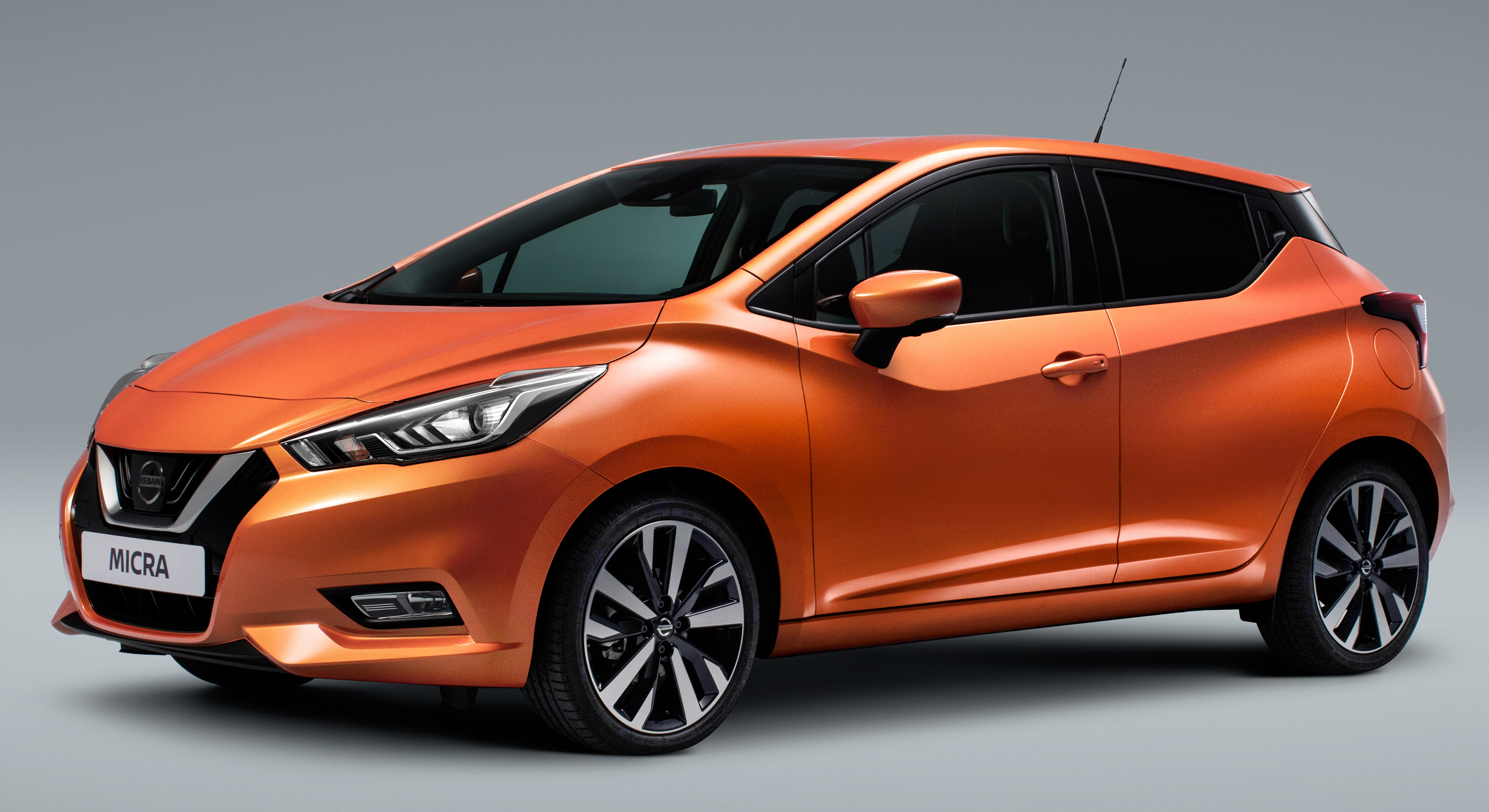 2017 Nissan March   fifth-gen officially revealed Image #555989
