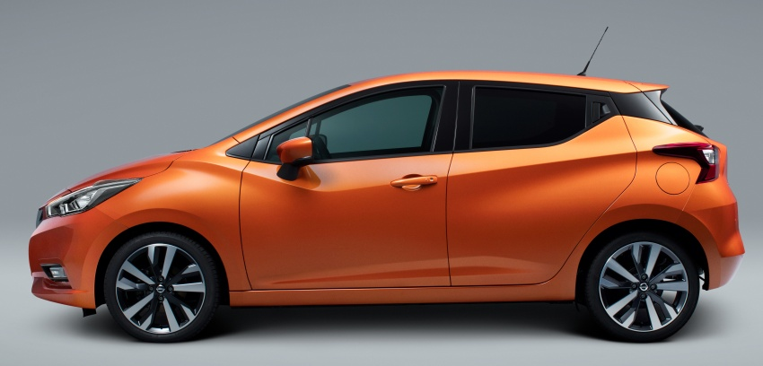 2017 Nissan March – fifth-gen officially revealed Image #555990