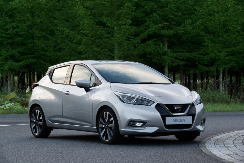 2017 Nissan March – fifth-gen officially revealed Image #556020