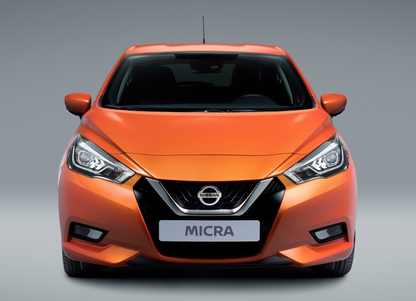 2017 Nissan March – fifth-gen officially revealed Image #555992
