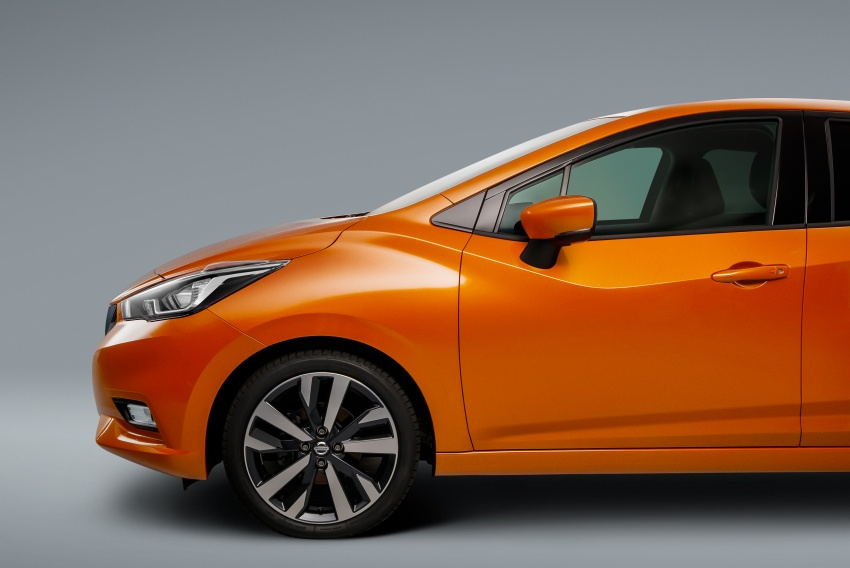 2017 Nissan March – fifth-gen officially revealed Image #555994