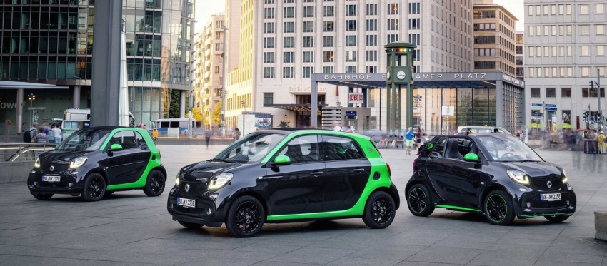 2017 Smart Electric Drive range: fortwo, cabrio, forfour Image #552719